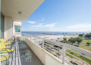 ocean club villas balcony