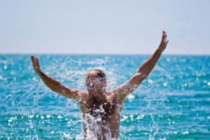 biloxi in september swimming